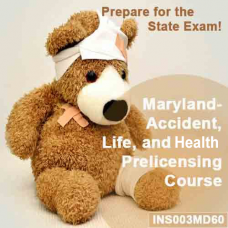 Maryland Life, Health and Variable Annuities Pre-licensing Course