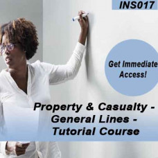 Property & Casualty - General Lines - Tutorial Course