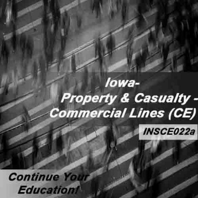 Iowa - Property and Casualty Insurance - Commercial Lines (6hrs CE)
