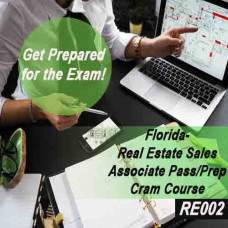 Florida - Real Estate Sales Associate Pass/Prep - Cram Course (RE002)